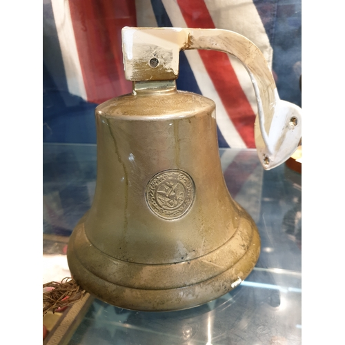 4 - Replica 1839 Brass Bell from slave revolt schooner La Amistad was a 19th-century two-masted schooner...