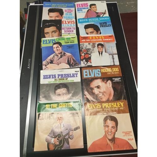 10 - Elvis Records...