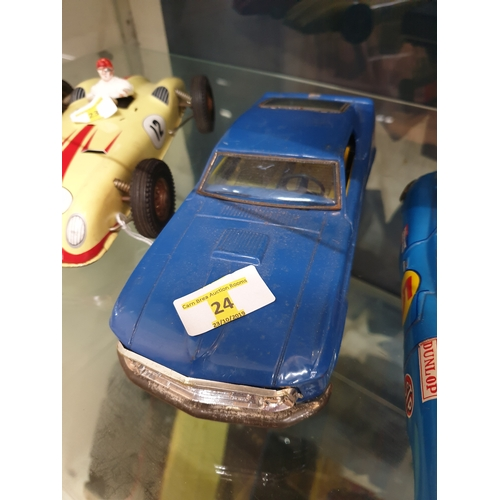 24 - Japanese Tin Plate 1960s GT Ford 12