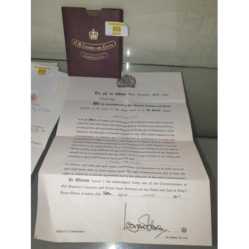 13 - Customes letter...