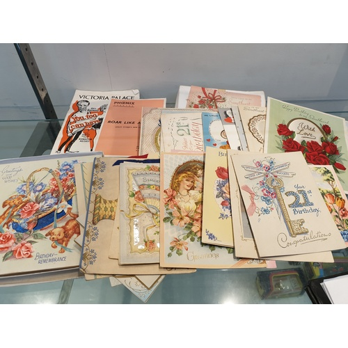 29 - 1940's & 50's Greetings cards...