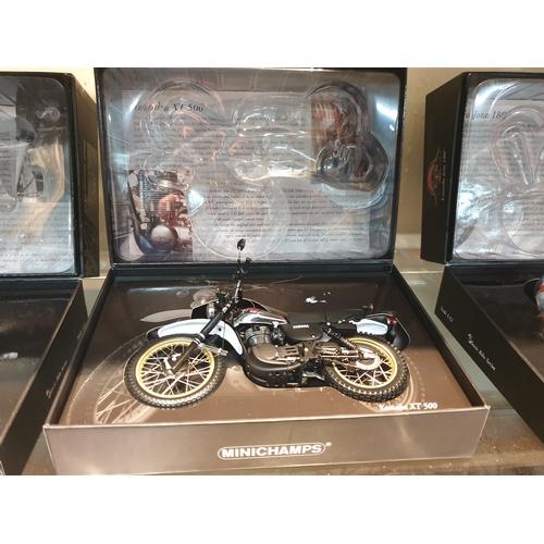 57 - MINICHAMPS 1:12 'YAMAHA MOTOR CYCLE XT500 1981'. MIB/BOXED...