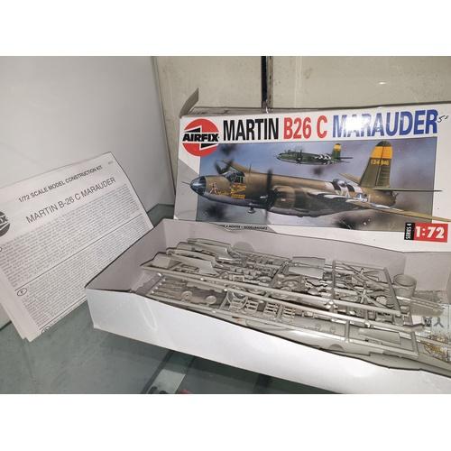 106 - Airfix Martin B26C Marauder Model Kit no 04015 1:72 scale...