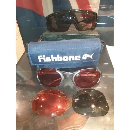 11 - Boule & Fishbone Glasses...