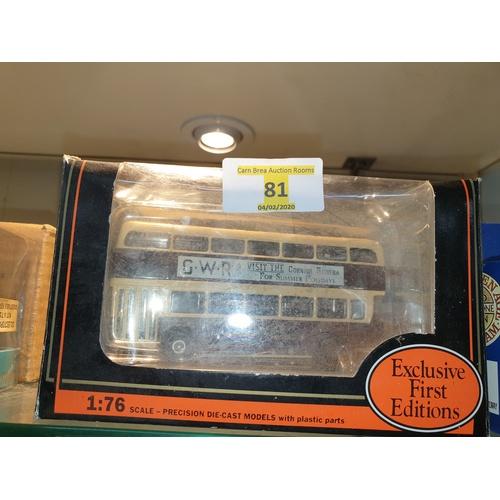 81 - EFE Exclusive First Editions 16517 Leyland Atlantean Bus - GWR Railways...