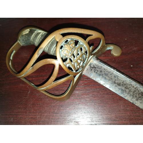 44 - Sword marked George IV...