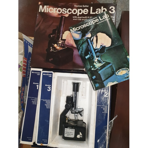 96 - Thomas Salter 1970s Microscope...