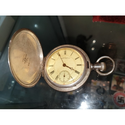262A - American Waltham Watch Co Gentleman's Pocket Watch needs attention...