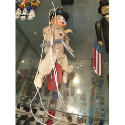 113 - Vintage balancing Clown...