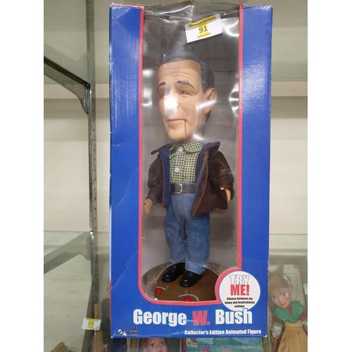 69 - George Bush Doll...