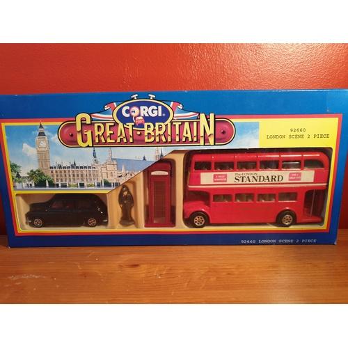 449 - Corgi 92660 London Scene 2 Piece Box Set - Boxed...
