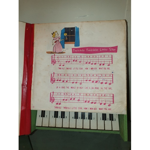 167 - Japanese 1960s piano book...