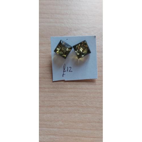 492A - Amber Earings...