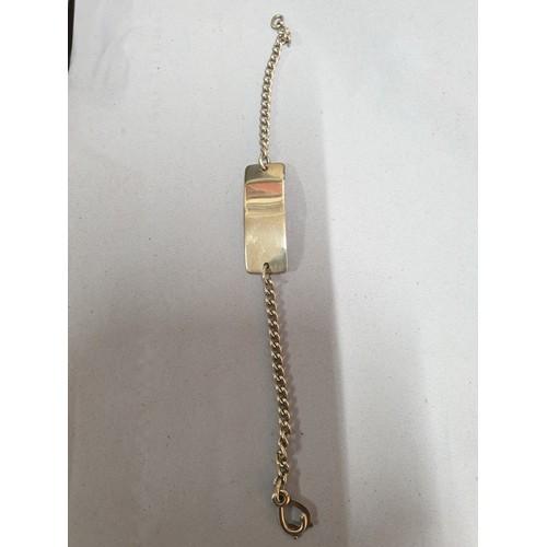 139 - Silver ID Bracelet...