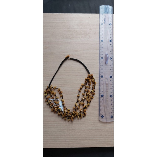107 - Amber Necklace...