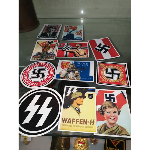 182 - 11 German Fridge magnets...