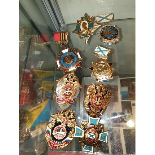 184 - 8 Russian Medals...