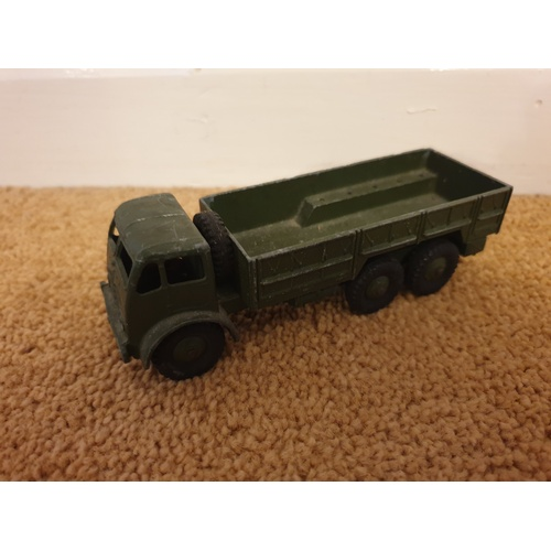 488 - DINKY 622 FODEN 10 TON ARMY TRUCK good condition 1950s...