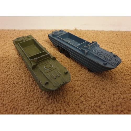 516 - Dinky Toys N.681 DUKW Amphibian x 2...