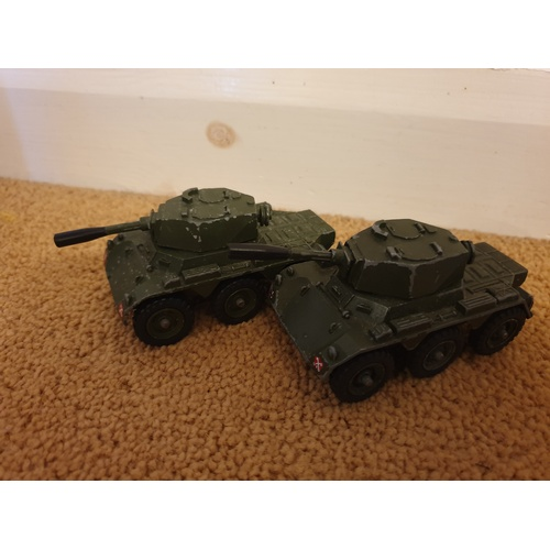 443 - CORGI #906 SALADIN ARMOURED CAR x 2...