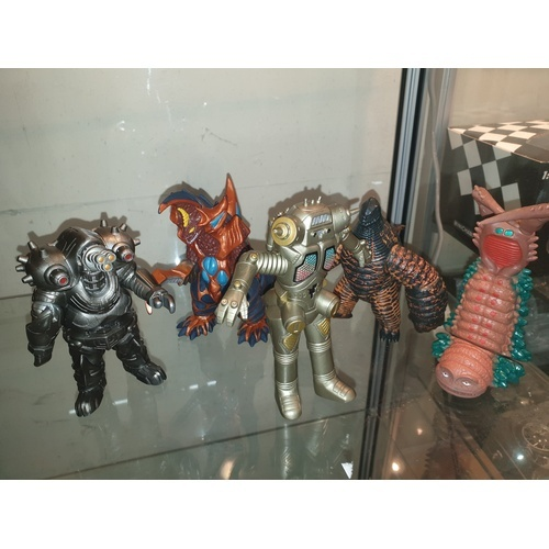 52 - Bandai Godzilla figures Japanese import. RELISTED DUE TO NON PAYER...