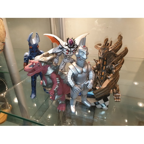 53 - Bandai Godzilla figures Japanese import. RELISTED DUE TO NON PAYER...