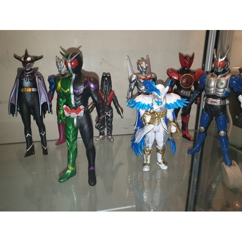54 - Bandi Japanese Import figures. RELISTED DUE TO NON PAYER...
