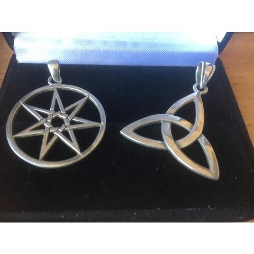 118 - penta/hexa charmes silver 925 7.3 gr...