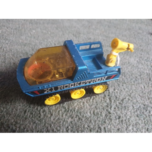 615 - Vintage Corgi Die Cast Vehicle The Explorers X1. Rocketron Made In Britain...