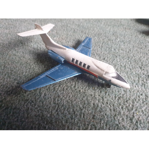 584 - MECCANO DINKY TOYS HAWKER SIDDELEY 125 JET AIRCRAFT...