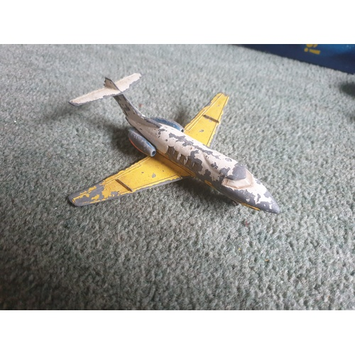 585 - MECCANO DINKY TOYS HAWKER SIDDELEY 125 JET AIRCRAFT...