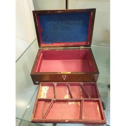 291 - Pearl Inlay box...