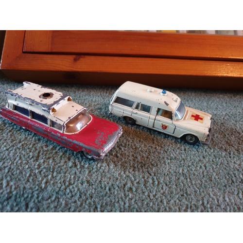 444 - Corgi & Matchbox Ambulances...