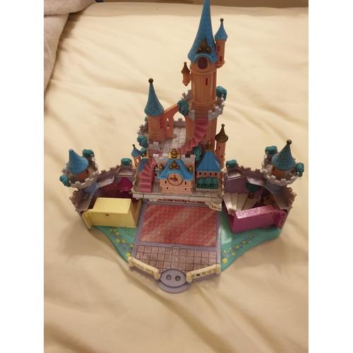 44 - Polly pocket 1995 DISNEY Cinderella enchanted castle...