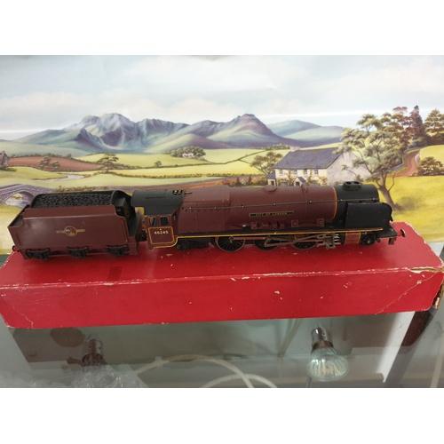 338 - Hornby Dublo 2 Rail 4-6-2 Loco City Of London 46245 Vintage...