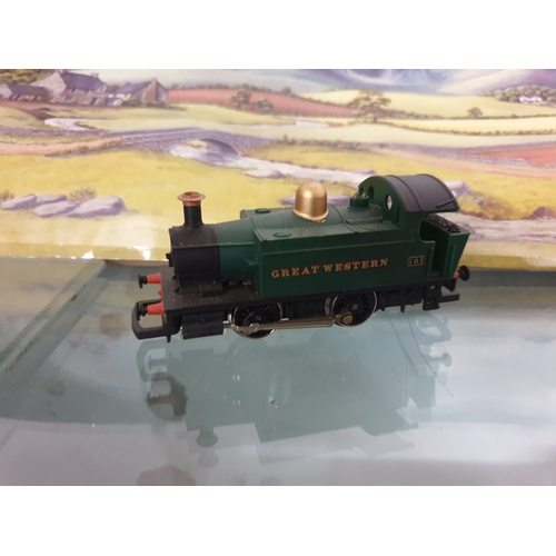 329 - Class 101 Holden 0-4-0T 101 in GWR Green By Hornby R077...