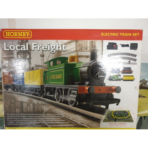 341 - Hornby Local Freight Electric Train Set R1085 no track...