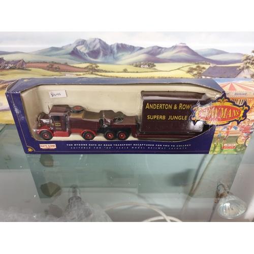 540 - Lledo Showmans DG110002 Scammell Trailer, Anderton & Rowlands Superb Jungle Ride...