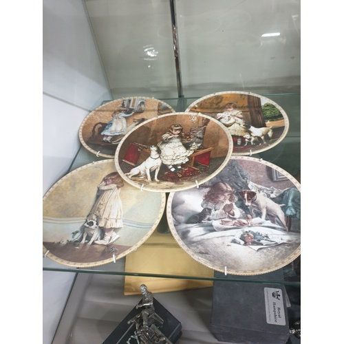 3 - Collection of Pears advertising plates with certificates...