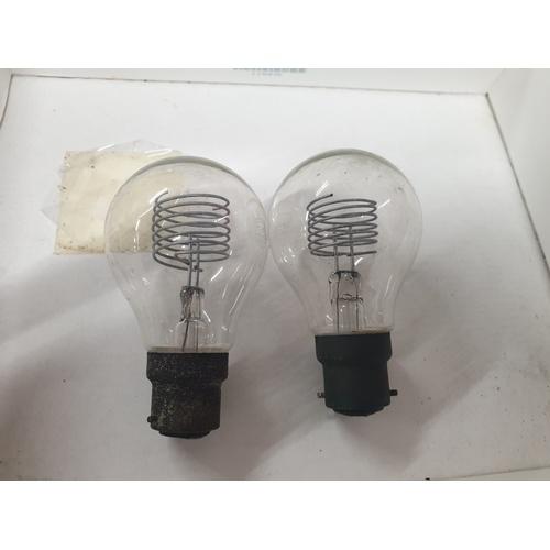 2 - 2 x 1940s light bulbs...