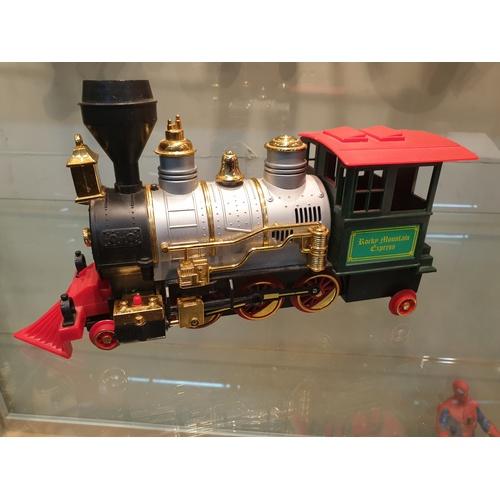 31 - Casey Jones plastic batttery train...
