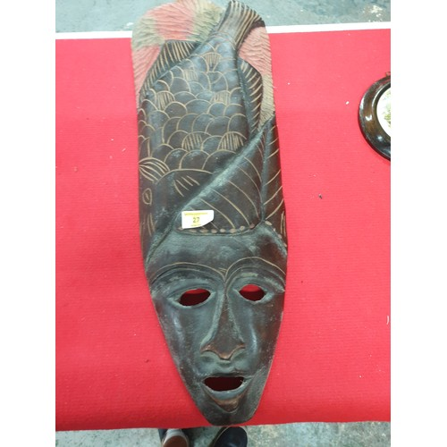 27 - West African mask Large...