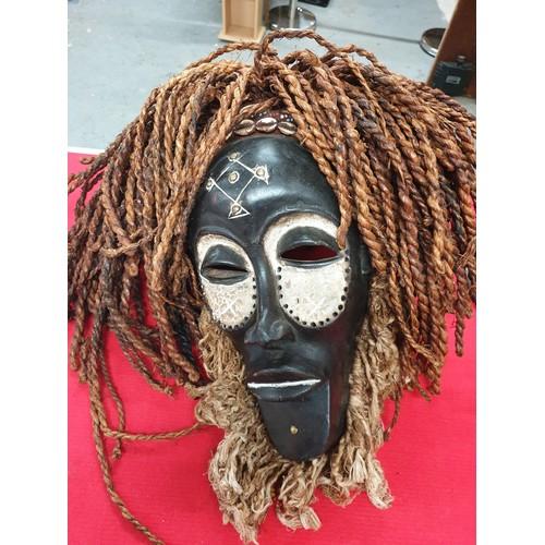 28 - West African mask Nigeria...