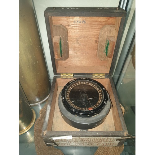40 - 1941 Spitfire/Hurricane compass in original box...