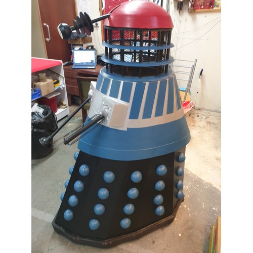 1 - Life size Dalek built 1975 for Walls Promotion for Dalek's Death Ray Ice Lolly T. Wall & Sons (Ice C...