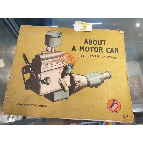 17 - About a motor car Penguin Books...