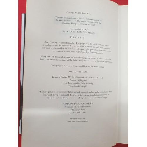 32 - Signed Autobiography Jonah Lumu...