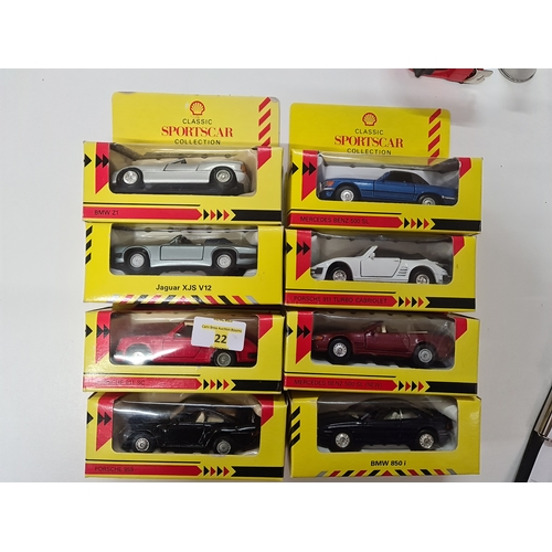 22 - Shell car collection...
