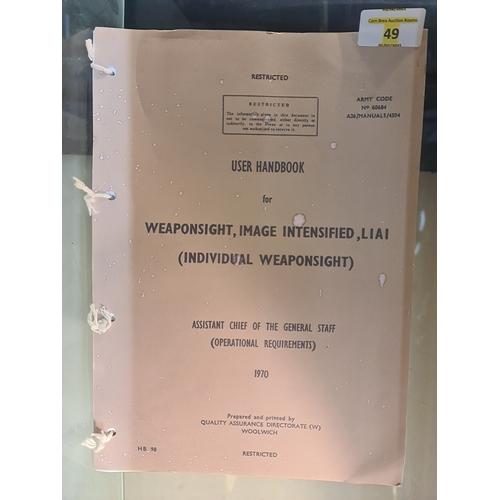 49 - British Army Restricted user handbook...