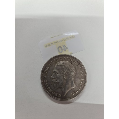 40 - George V Silver Jubilee Crown 1935...